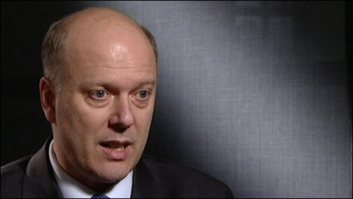 Shadow home secretary, Chris Grayling