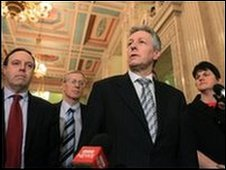DUP team at Stormont
