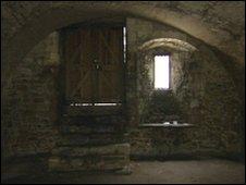 Inside a wine vault