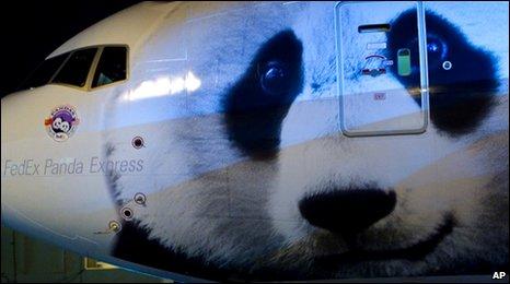 The FedEx Panda Express