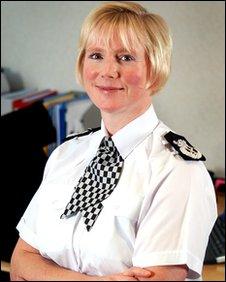Chief Constable Justine Curran