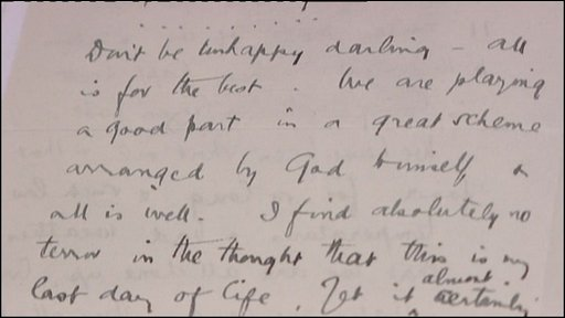 Edward Wilson letter