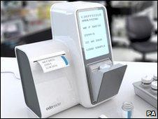Odoreader device