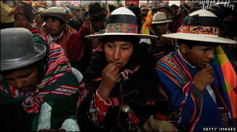 Kallawaya tribe of Bolivia