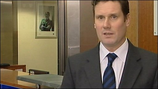 CPS Director of Public Prosecutions, Keir Starmer