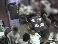 CCTV footage of Ali Dizaei