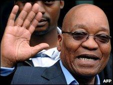 Jacob Zuma (file image)