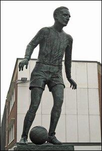 Sir Stanley Matthews Statue Hanley