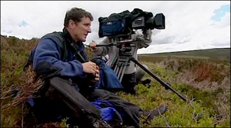 Iolo visits Denbigh Moors to see his favourite bird, the rare hen harrier