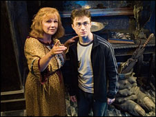 Scene from Harry Potter and the Order of the Phoenix. Pic c/o of Warner Bros