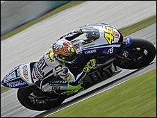 MotoGP champion Valentino Rossi