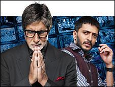 Amitabh Bachchan and Reitesh Desmukh