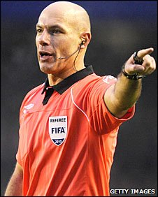 Howard Webb in action