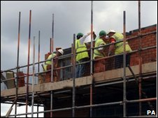 Housebuilding in the UK has slowed  sharply