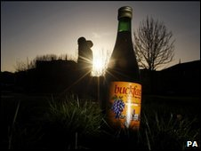Bottle of Buckfast