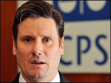 Director of Public Prosecutions Keir Starmer