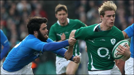 Luke McLean and Andrew Trimble