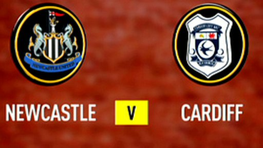 Newcastle v Cardiff