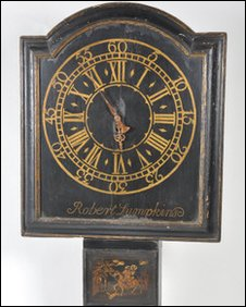George III Act of Parliament clock