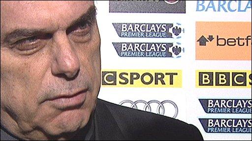 Portsmouth coach Avram Grant