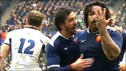 Scotland 9-18 France
