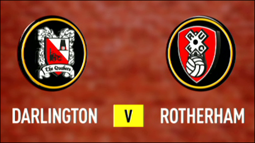 Darlington 2-0 Rotherham