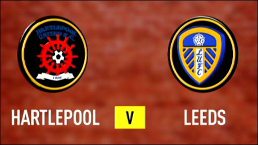 Hartlepool 2-2 Leeds