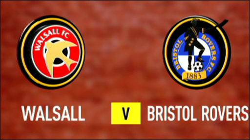 Walsall 0-0 Bristol Rovers