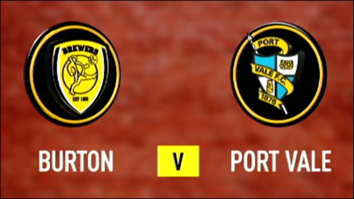 Burton Albion 1-0 Port Vale