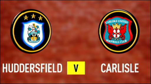 Huddersfield 1-1 Carlisle