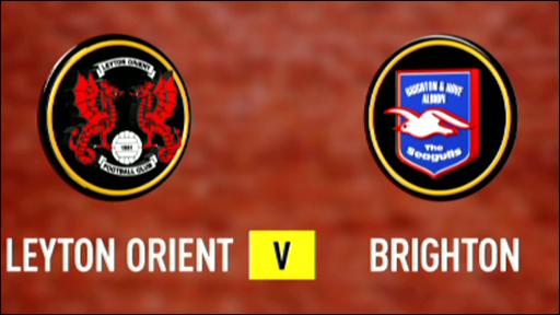 Leyton Orient 1-1 Brighton