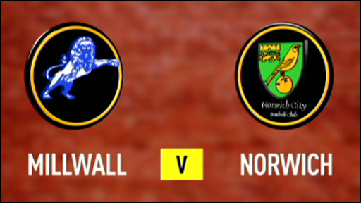 Millwall 2-1 Norwich