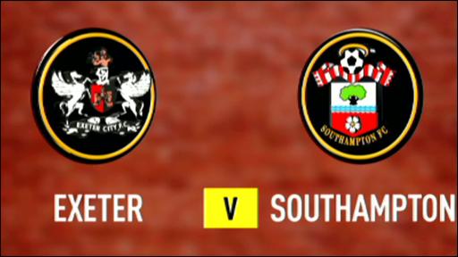 Exeter 1-1 Southampton