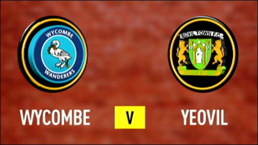 Wycombe 1-4 Yeovil