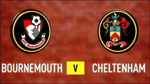 Bournemouth 0-0 Cheltenham