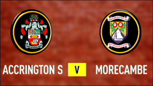 Accrington 3-2 Morecambe