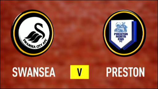 Swansea 2-0 Preston