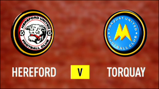Hereford 1-0 Torquay