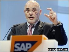 SAP's ex-chief executive Leo Apotheker