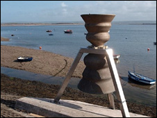 A bell has already been installed at Appledore in Devon