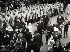 Funeral of Emily Hobhouse