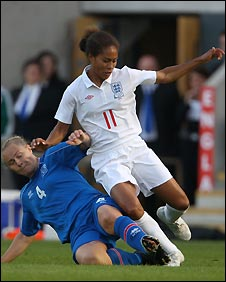 Arsenal star Rachel Yankey has played 89 times for England