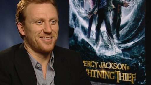 Kevin McKidd, who plays Percy's dad Poseidon in the film