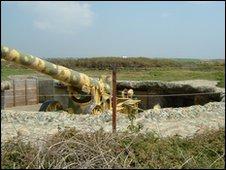 Pleinmont gun emplacement