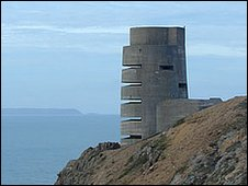 Grosnez point in Jersey