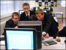 School Reporters from Alec Hunter school in Essex