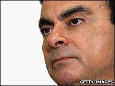 Carlos Ghosn, head of Nissan-Renault