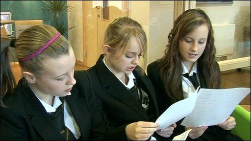 School Reporters at Oldham CLC