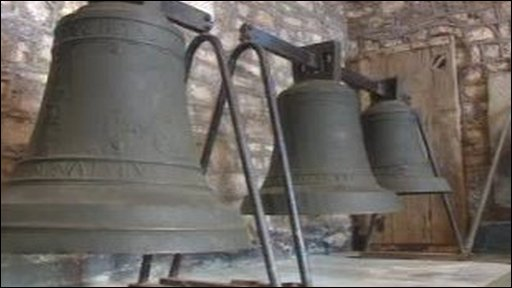 The bells of Santiago in All Saints Church