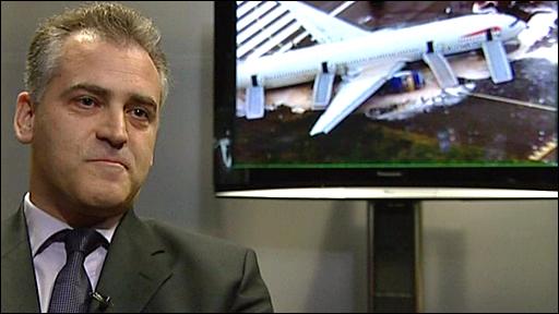 Former BA Captain Peter Burkill